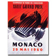 <strong>Trademark Fine Art</strong> 'Monaco 1960' Canvas Art