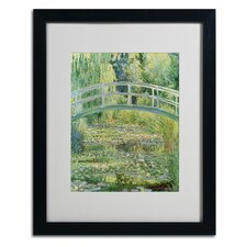 """The Waterlily Pond - Pink Harmony, 1899"" Framed Art"