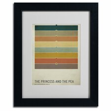 "<strong>Trademark Fine Art</strong> ""The Princess and the Pea"" Framed Art"