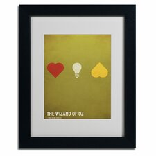 "<strong>Trademark Fine Art</strong> ""Wizard of Oz"" Framed Art"