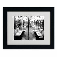 "<strong>Trademark Fine Art</strong> ""Subway Car"" Framed Art"