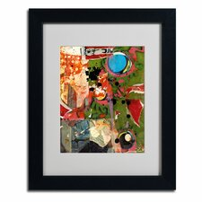 "<strong>Trademark Fine Art</strong> ""Urban Collage I"" Framed Art"