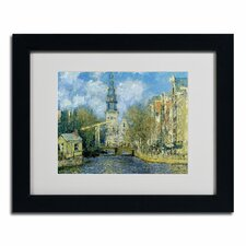 "<strong>Trademark Fine Art</strong> ""The Zuiderkerk at Amsterdam"" Framed Art"