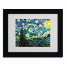 """Starry Night"" by Vincent van Gogh Framed Painting Print"