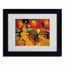 """Night Cafe"" Framed Art"
