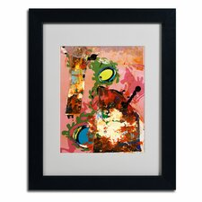 "<strong>Trademark Fine Art</strong> ""Urban Collage III"" Framed Art"