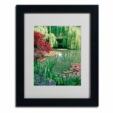 "<strong>Trademark Fine Art</strong> ""Monet's Lily Pond 2"" Framed Art"