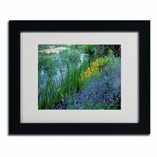 """""""Monet's Lily Pond"""" by Kathy Yates Framed Photographic Print"""