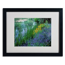 """Monet's Lily Pond"" Framed Art"