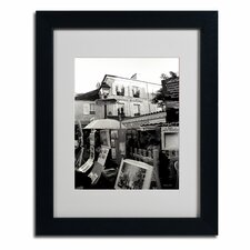 "<strong>Trademark Fine Art</strong> ""Montmartre"" Framed Art"