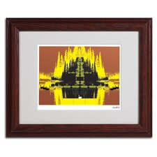 "<strong>Trademark Fine Art</strong> ""Yellow Trees"" Framed Art"