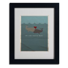 "<strong>Trademark Fine Art</strong> ""The Voyage Home"" Matted Framed Art"