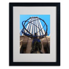 "<strong>Trademark Fine Art</strong> ""Atlas"" Matted Framed Art"