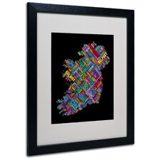 "<strong>Trademark Fine Art</strong> ""Ireland V"" Matted Framed Art"