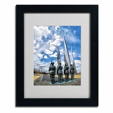 "<strong>Trademark Fine Art</strong> ""DC"" Matted Framed Art"