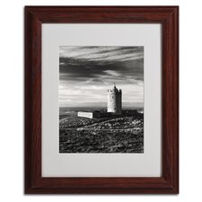 """Doonagore Castle Ireland"" Matted Framed Art"