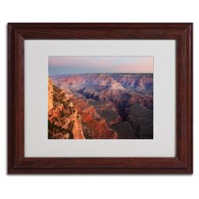 "<strong>Trademark Fine Art</strong> ""Grand Canyon Sunrise"" Matted Framed Art"