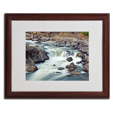 "<strong>Trademark Fine Art</strong> ""A Treasure"" Matted Framed Art"