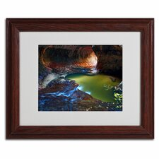 "<strong>Trademark Fine Art</strong> ""Zion Subway"" Matted Framed Art"