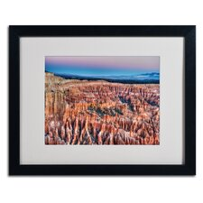 "<strong>Trademark Fine Art</strong> ""Bryce Dawn"" Matted Framed Art"