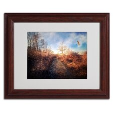 "<strong>Trademark Fine Art</strong> ""Blast of Wind"" Matted Framed Art"