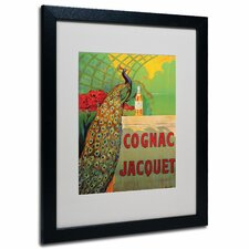 "<strong>Trademark Fine Art</strong> ""Cognac Jacquet"" Framed Matted Art"