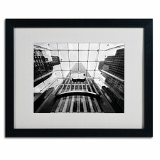 "<strong>Trademark Fine Art</strong> ""NYC Big Apple II"" Matted Framed Art"