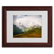 "<strong>Trademark Fine Art</strong> ""Peaceful Switzerland"" Matted Framed Art"