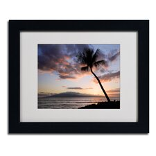 """""""Palm Tree Maui"""" by Pierre Leclerc Framed Photographic Print"""
