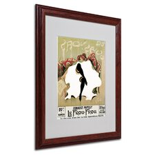 "<strong>Trademark Fine Art</strong> ""Le Frou Frou"" Matted Framed Art"