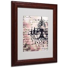 "<strong>Trademark Fine Art</strong> ""Chandelier"" Matted Framed Art"