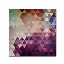 Trivector by Christian Jackson Graphic Art on Wrapped Canvas