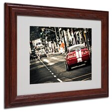 "<strong>Trademark Fine Art</strong> ""As a Move"" Matted Framed Art"