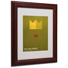 "<strong>Trademark Fine Art</strong> ""The Frog Prince"" Matted Framed Art"