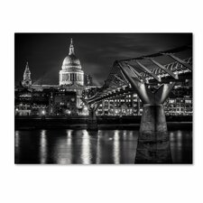 "<strong>Trademark Fine Art</strong> ""Letters From London"" Canvas Art"