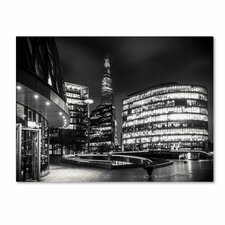 "<strong>Trademark Fine Art</strong> ""Gotham Side of London"" Canvas Art"