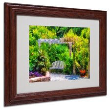 "<strong>Trademark Fine Art</strong> ""Restful Retreat"" Matted Framed Art"