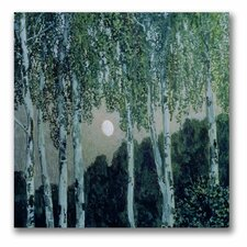 "<strong>Trademark Fine Art</strong> ""Birch Trees"" Canvas Art"