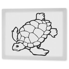 """Tommy the Turtle"" Coloring Canvas Art"