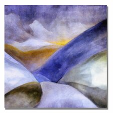 <strong>Trademark Fine Art</strong> 'Mountain Landscape' Canvas Art