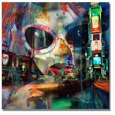 <strong>Trademark Fine Art</strong> 'On Broadway' Canvas Art