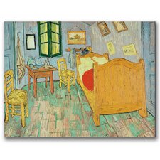 """Van Gogh's Bedroom at Arles"" by Vincent Van Gogh Painting Print on Canvas"