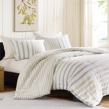 <strong>Ink + Ivy</strong> Sutton Duvet Cover Set