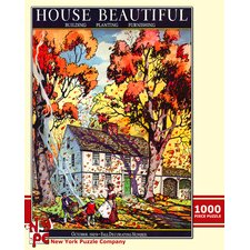 <strong>New York Puzzle Company</strong> Autumn Leaves 100-Piece Puzzle