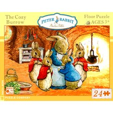 Cozy Burrow 24-Piece Floor Puzzle