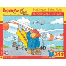 <strong>New York Puzzle Company</strong> Paddington Takes Flight 24-Piece Floor Puzzle