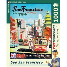 <strong>New York Puzzle Company</strong> San Francisco 100-Piece Puzzle