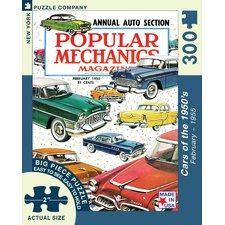 Cars of the 1950s 300-Piece Puzzle