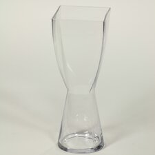 Square Top Round Bottom Vase