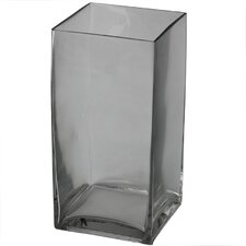 Square Clear Flower Vase